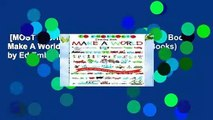 [MOST WISHED]  Ed Emberley s Drawing Book: Make A World (Ed Emberley Drawing Books) by Ed Emberley