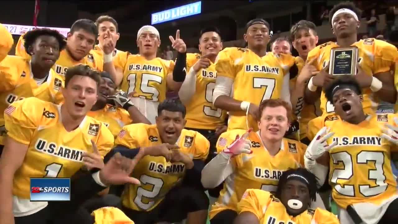 Gold Squad wins 2019 U.S. Army All-Star Bowl