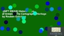 [GIFT IDEAS] Historic Maps of Armenia: The Cartographic Heritage by Rouben Galichian