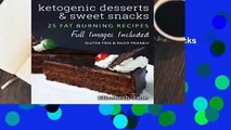 Online Ketogenic Desserts and Sweet Snacks  For Trial