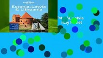 [GIFT IDEAS] Lonely Planet Estonia, Latvia   Lithuania (Travel Guide) by Lonely Planet