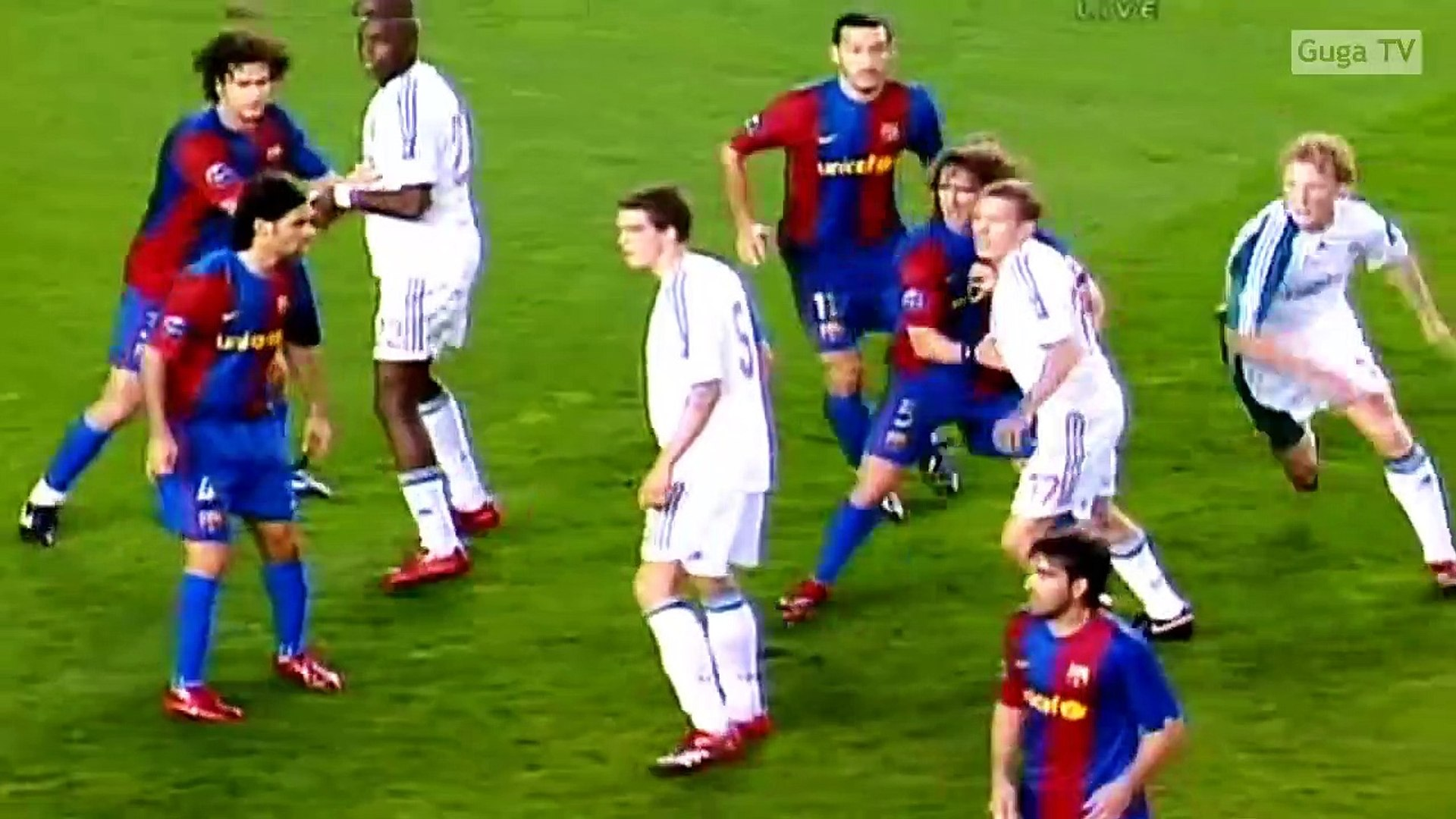 Barcelona Vs Liverpool 1 2 Ucl 2006 2007 Highlights English Commentary Video Dailymotion