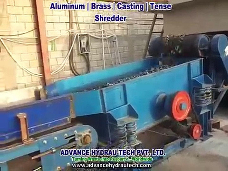 Tense Shredder   Casting Shredder for Aluminum, Brass, Light Engine Blocks, Transmission & metal
