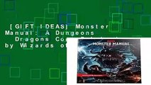 [GIFT IDEAS] Monster Manual: A Dungeons   Dragons Core Rulebook by Wizards of the Coast