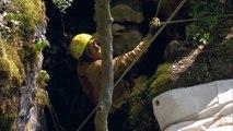 Sauvetage de 5 hommes coincés dans une grotte en Virginie