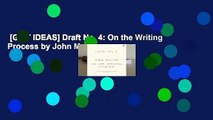 [GIFT IDEAS] Draft No. 4: On the Writing Process by John McPhee