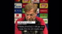 Firmino will play if he is ready - Klopp