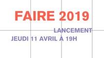 Lancement FAIRE 2019 et  FAIRE CLUB #3