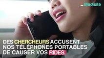 Notre téléphone portable, responsable de nos rides ?