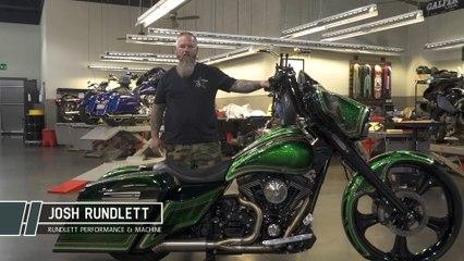 Josh Rundlett's 2018 Hot Bike Tour Entry Rocks The Green