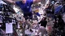 16 levers de soleil depuis ISS