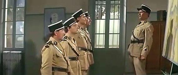 Scène culte Louis de Funès Le Gendarme à Saint Tropez