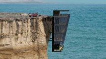 Extraordinary Home In Australia Hangs From Cliff Side