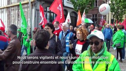 Mobilisation syndicale pour les élections européennes