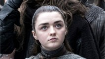 Maisie Williams On Filming Arya Stark For Last Night's GoT Episode