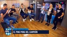 El ping pong con los campeones