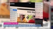 Hailey Baldwin Slams 'Cruel Social Media' Users After Justin Bieber Addresses Selena Gomez Video in Search History