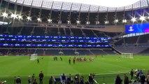 Ajax train ahead of their Champions League semi-final 1st leg against Tottenham