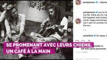 PHOTOS. Paris Jackson dévoile plein de tendres clichés de son amoureux pour son anniversaire