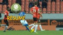 FC Lorient - AJ Auxerre (2-2)  - Résumé - (FCL-AJA) / 2018-19