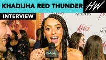 """After"" star Khadijha Red Thunder Spills About First Kiss & Favorite Scene to Film! 