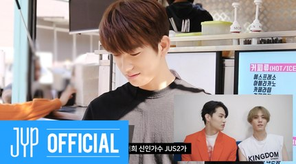 """GOT7 박진영 """"사이코메트리 그녀석"""" Jus2'S GIFT MAKING FILM"""