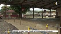 intempéries et écoles fermées à la presqu'île