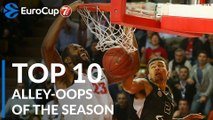 2018-19 7DAYS EuroCup: Top 10 Alley-oops!