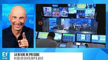 """François Hollande : """"Je pense que Macron va nous dire 'Je peux avoir Jésus pour l'inauguration de Notre-Dame'"""" (Canteloup)"""
