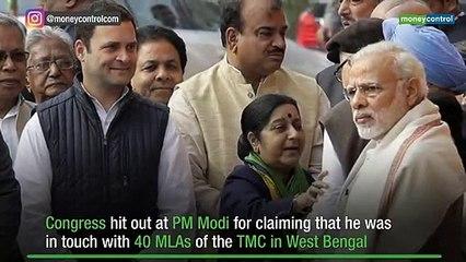 Image result for narendra modi comment on 40 TMC MLAs
