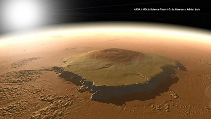 Think Mount Everest is Tall? Check Out Mars' Olympus Mons