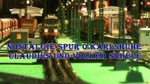 Nostalgie Spur 0 Karlsruhe - Tinplate Modelleisenbahn Teppichbahn von Claudius und Volker Schüle - Ein Video von Pennula über Modelleisenbahnanlagen, Schauanlagen und Modellbahnanlagen