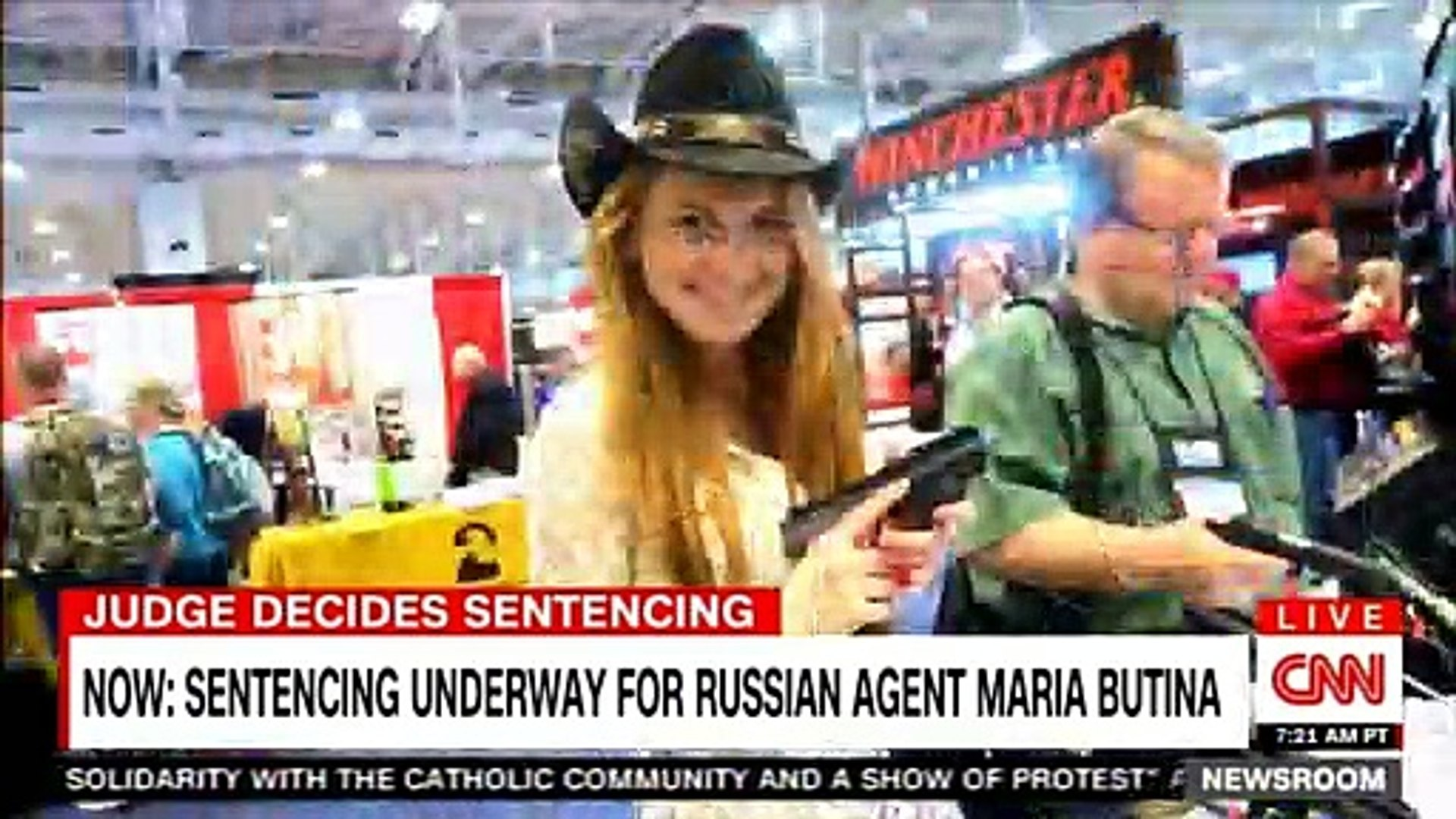 Sentencing underway for Russian agent Maria Butina. #Russia #News #Breaking #Justice