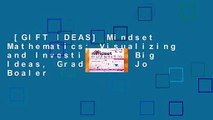 [GIFT IDEAS] Mindset Mathematics: Visualizing and Investigating Big Ideas, Grade 6 by Jo Boaler