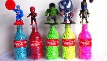 Learn Colors Pj Masks Bottles Balls Beads - Learn Colors Wrong Heads Pj Masks Surprise Toys