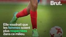 """""""Ah t'es une fille, tu joues au foot ?"""" : La footballeuse Wendie Renard milite pour l'égalité hommes-femmes"""