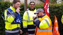 Sucrerie d'Erstein : les salariés manifestent contre la suppression de 70 emplois