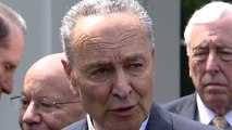 Schumer says Democrats can investigate Trump and work on infrastructure at same time