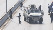 Intensos disturbios y enfrentamientos en las calles de Caracas