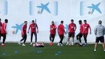 Barcelona prepare to face Liverpool in first leg of Champions League semi