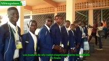 Coupe d'Afrique U17 : Les vice-champions accueilli comme des rois à Conakry.
