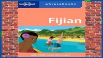 [GIFT IDEAS] Lonely Planet Fijian Phrasebook (Lonely Planet Phrasebook) by Lonely Planet