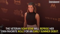 'The Young and the Restless' is Bringing Back Melissa Claire Egan