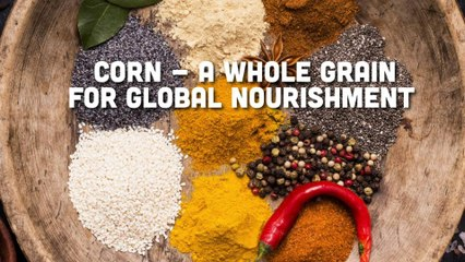 Corn - A Whole Grain for Global Nourishment