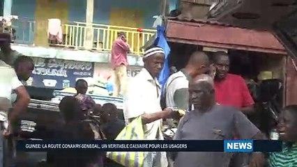 LA ROUTE  CONAKRY - SENEGAL