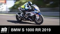 BMW S 1000 RR 2019 ESSAI POV avec Mathieu Gines à Magny-Cours