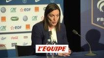 Diacre «Allez en finale, l'objectif fixé par le président Le Graët» - Foot - CM (F) - Bleues