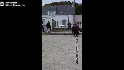 Finale doublette féminin dernière boule
