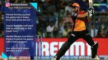 Bumrah ensures Pandey's heroic effort goes in vain as MI seal IPL 2019 playoff berth via Super Over