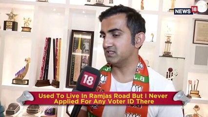 Gautam Gambhir On Two Voter IDs, Challenge Of Debate And Full Statehood